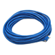 Cat5e 24AWG UTP Ethernet Network Patch Cable, 30ft Blue