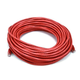 Cat5e 24AWG UTP Ethernet Network Patch Cable, 75ft Red