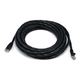 Cat5e Ethernet Patch Cable - Snagless RJ45, Stranded, 350Mhz, UTP, Pure Bare Copper Wire, 24AWG, 20ft, Black
