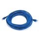 Cat5e 24AWG UTP Ethernet Network Patch Cable, 20ft Blue
