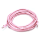 Cat5e 24AWG UTP Ethernet Network Patch Cable, 20ft Pink