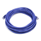 Monoprice Cat5e Ethernet Patch Cable - Snagless RJ45, Stranded, 350Mhz, UTP, Pure Bare Copper Wire, 24AWG, 20ft, Purple