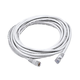 Cat6 24AWG UTP Ethernet Network Patch Cable, 20ft White