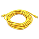 Cat6 Ethernet Patch Cable - Snagless RJ45, Stranded, 550Mhz, UTP, Pure Bare Copper Wire, 24AWG, 20ft, Yellow