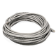 Cat6 24AWG UTP Ethernet Network Patch Cable, 30ft Gray