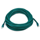Cat6 24AWG UTP Ethernet Network Patch Cable, 30ft Green