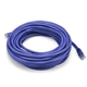 Cat6 24AWG UTP Ethernet Network Patch Cable, 30ft Purple