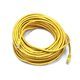 Cat6 24AWG UTP Ethernet Network Patch Cable, 75ft Yellow