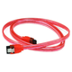 36inch SATA 6Gbps Cable w/Locking Latch - UV Red