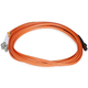 Monoprice Fiber Optic Cable - MTRJ Female to LC, OM1, 62.5/125 Type, Multi Mode, Duplex, Orange, 3m