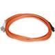 Fiber Optic Cable, MTRJ (Female)/LC, OM1, Multi Mode, Duplex - 3 meter (62.5/125 Type) - Orange