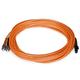 Fiber Optic Cable, MTRJ (Female)/ST, OM1, Multi Mode, Duplex - 10 meter (62.5/125 Type) - Orange
