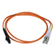 Fiber Optic Cable, MTRJ (Female)/LC, OM1, Multi Mode, Duplex - 1 meter (62.5/125 Type) - Orange