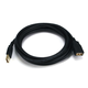 10ft USB 2.0 A Male to A Female Extension 28/24AWG Cable (Gold Plated)