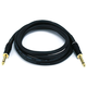 Monoprice 6ft Premier Series 1/4in TS Male to Male Audio Cable, 16AWG (Gold Plated)