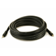 Monoprice 15ft Premium 3.5mm Stereo Male to 3.5mm Stereo Male 22AWG Cable (Gold Plated) - Black