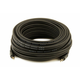 Monoprice 50ft Premium 3.5mm Stereo Male to 3.5mm Stereo Male 22AWG Cable (Gold Plated) - Black