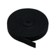 Hook & Loop Fastening Tape 5 yard/roll, 0.75-inch - Black