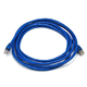 Cat6A 26AWG STP Ethernet Network Patch Cable, 10ft Blue