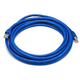 Cat6A 26AWG STP Ethernet Network Patch Cable, 10G, 14ft Blue