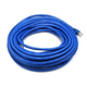 Cat6A 26AWG STP Ethernet Network Patch Cable, 50ft Blue