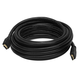 Commercial Series Premium Standard HDMI Cable with Ethernet, 20ft Black