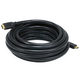 Monoprice Commercial Series High Speed HDMI Cable - 4K@24Hz, 10.2Gbps, 22AWG, CL2, 20ft, Black
