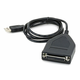 USB to Parallel(DB25 Female) Converter Cable - 4ft (DB25)