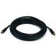 Monoprice 15ft Coaxial Audio/Video RCA Cable M/M RG59U 75ohm (for S/PDIF, Digital Coax, Subwoofer, and Composite Video)