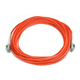 Fiber Optic Cable, LC/LC, OM2, Multi Mode, Duplex -  10 meter (50/125 Type) - Orange