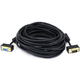 35ft Ultra Slim SVGA Super VGA 30/32AWG M/F Monitor Cable w/ ferrites (Gold Plated Connector)