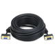 Monoprice 50ft Ultra Slim SVGA Super VGA 30/32AWG M/F Monitor Cable with Ferrites (Gold Plated Connector)