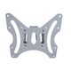 Fixed Wall Mount Bracket for LCD LED (Max 66 lbs, 23 - 42 inch), Silver