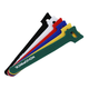 Hook & Loop Fastening Cable Ties, 6-inch, 120pcs/pack, 6 Colors