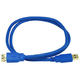 3ft USB 3.0 A Male to A Female Extension 28/24AWG Cable (Gold Plated)