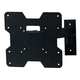 Titan Series Single Arm Swivel Wall Mount for Small 20 - 42 inch TVs 80lbs Black