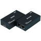 HDMI Extender using Cat5e/CAT6 cable extending up to 196 ft, Supporting DDC & HDCP