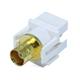 Keystone Jack - Modular BNC (White)