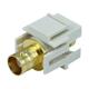 Keystone Jack - Modular BNC (Ivory)