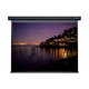 100-inch, 4:3 Matte White Fabric Motorized Projection Screen