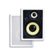 Caliber In Wall Speakers 8 Inch Fiber 3-Way (pair)