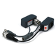 1 Channel Passive CCTV BALUN - Video/Power over Cat5