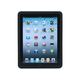 Silicone Case with Puzzle Pattern for iPad 1 - Black