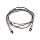 Cat5e 24AWG STP Ethernet Network Patch Cable, 7ft Gray
