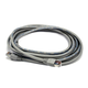Cat5e 24AWG STP Ethernet Network Patch Cable, 15ft Gray