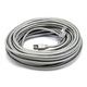 Cat5e 24AWG STP Ethernet Network Patch Cable, 50ft Gray