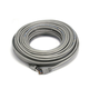 Cat5e 24AWG STP Ethernet Network Patch Cable, 75ft Gray