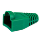 [50pcs] RJ-45 Color Coded Strain Relief Boots - Green