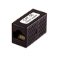 8P8C RJ45 Cat5e Inline Coupler, Black