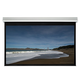 106-inch HD White Fabric Ceiling-Recessed Motorized Projection Screen 16:9